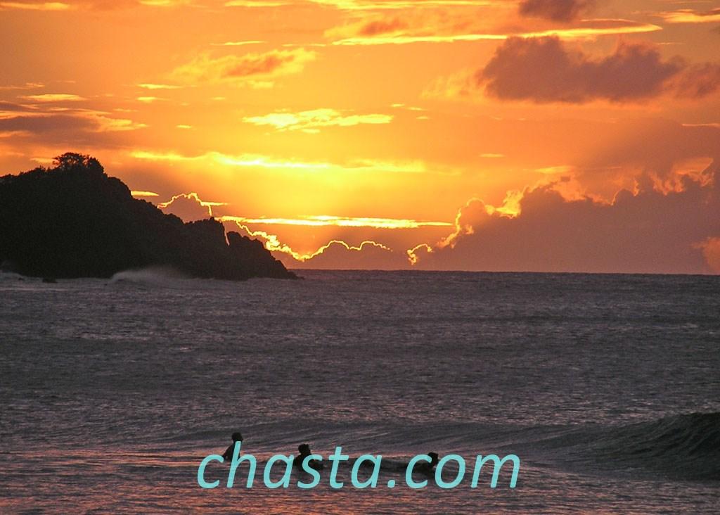 Coucher de soleil sur la perle photos de guadeloupe - Coucher de soleil en guadeloupe ...